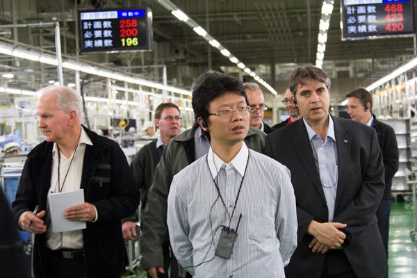 Lean Japan Tour Factory Tour