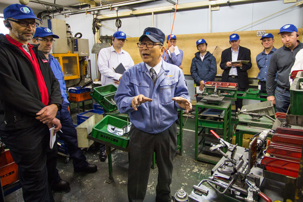 Lean Lessons from Japan Factory Tour