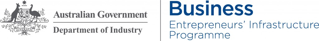 Australian Government - Department of Industry Business Entrepreneurs' Infrastructure Programme Logo