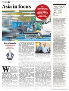 Courier Mail - Asia in Focus