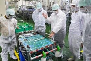 5S - Food processing plant shop floor
