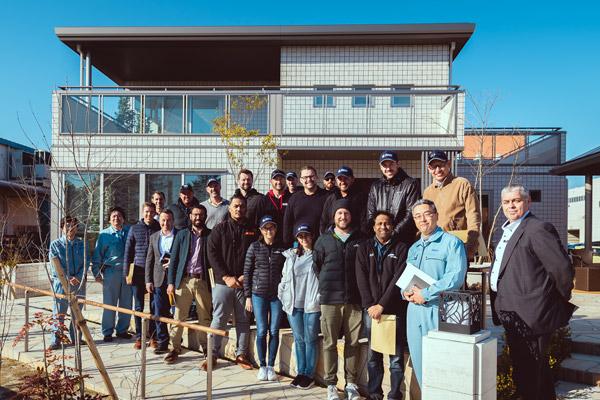 Sekisui Heim Tour Group Photo