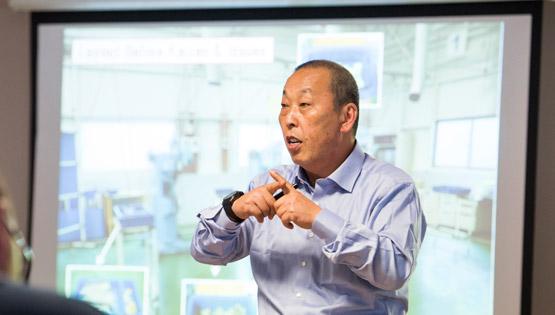 Long-term TPS and Lean Leader Akinori Hyodo