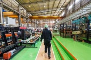 5S Shitsuke - Isuzu plant shop floor